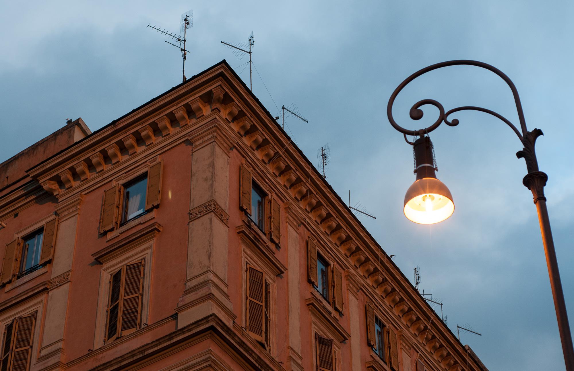 Street Lamp Rome