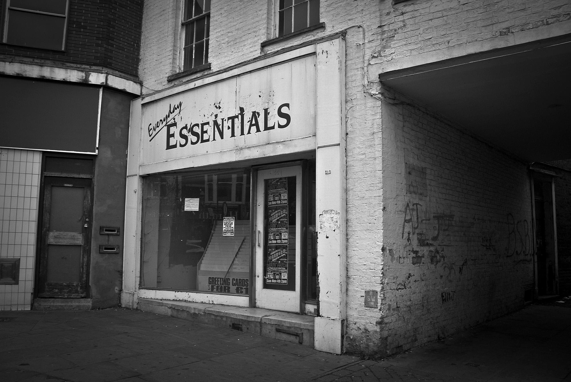 Abandoned Shop Front