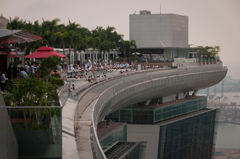 Top of Marina Bay Sands Hotel