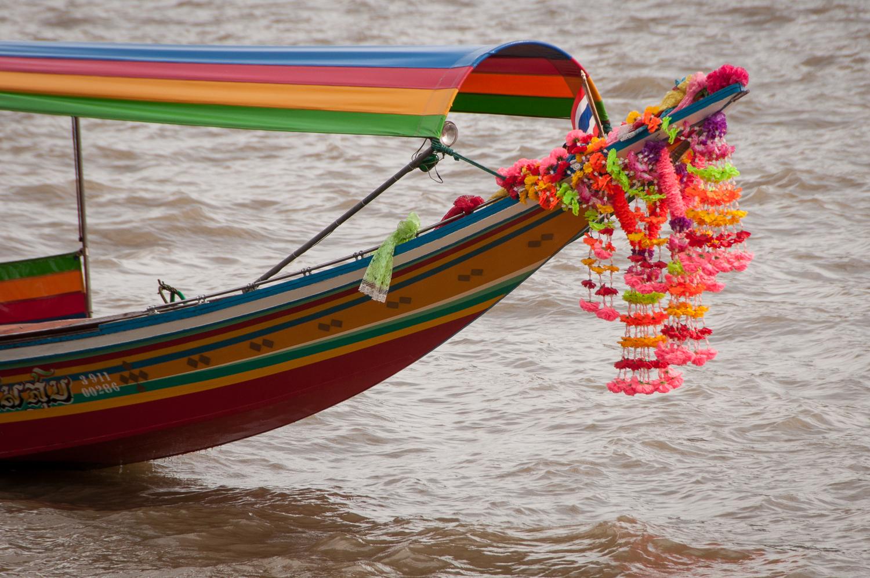 Longboat in Bangkok