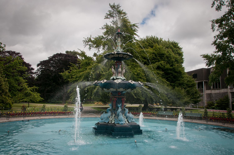 Peacock Fountain Christchurch