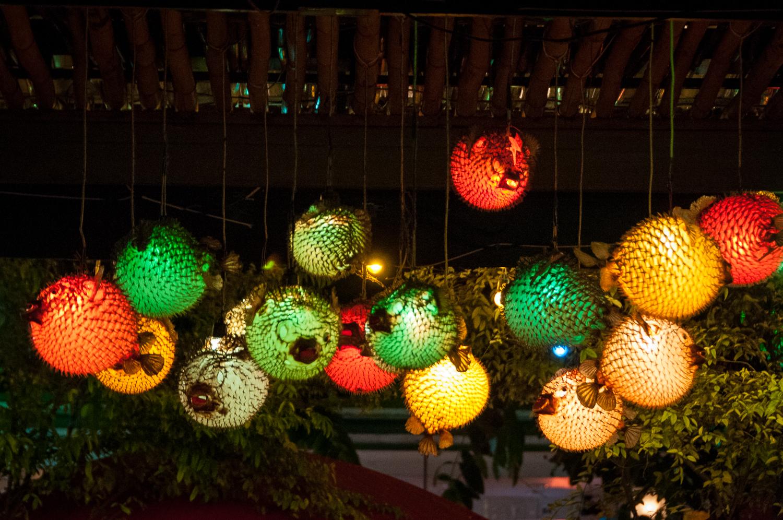 Puffer fish Lights