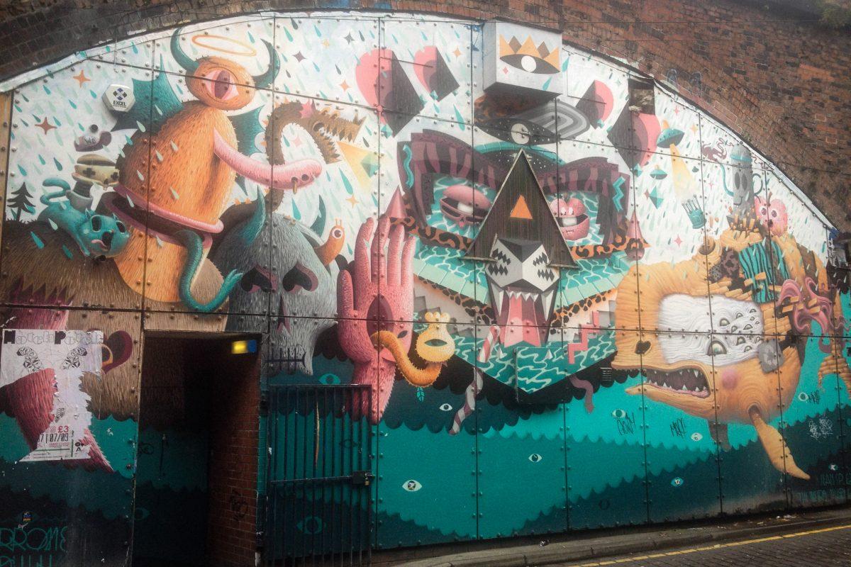 New Wakefield Street Graffiti Manchester