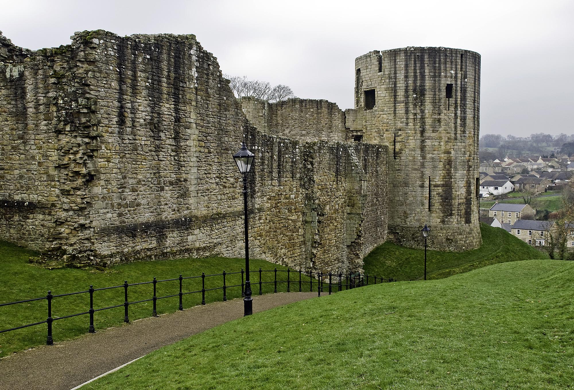 Side of Barnard Castle, County Durham