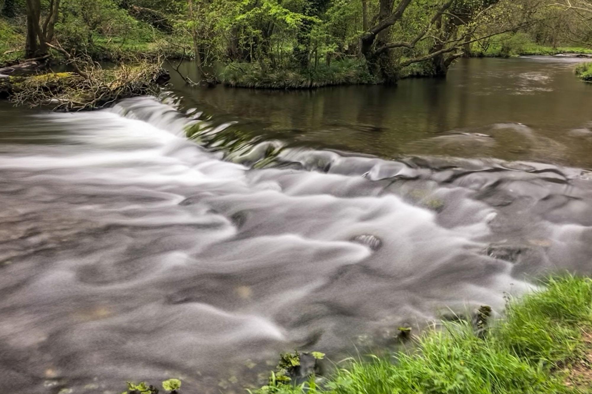 River Dove cascades