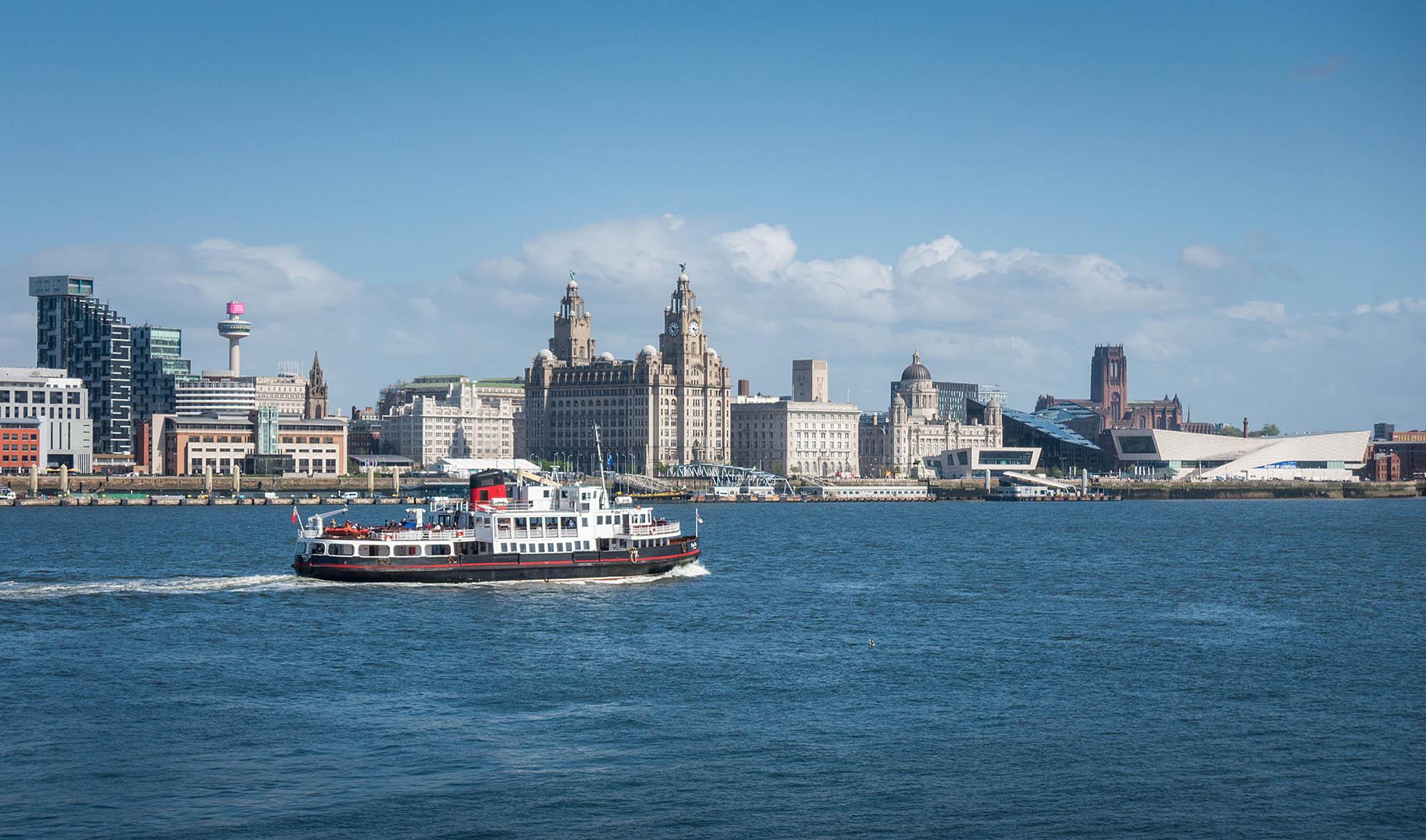 Ferry across the Mersey